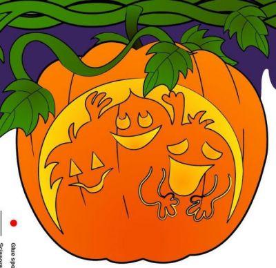 Los colores de Halloween