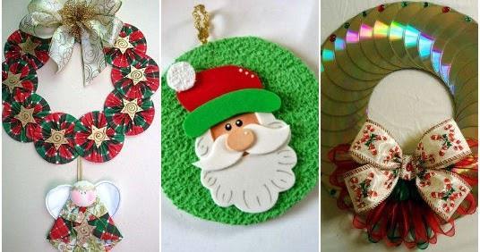 Muro - Decoraciones navidenas con reciclaje ...