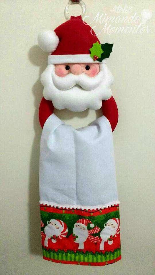 porta pano Papa Noel.jpg