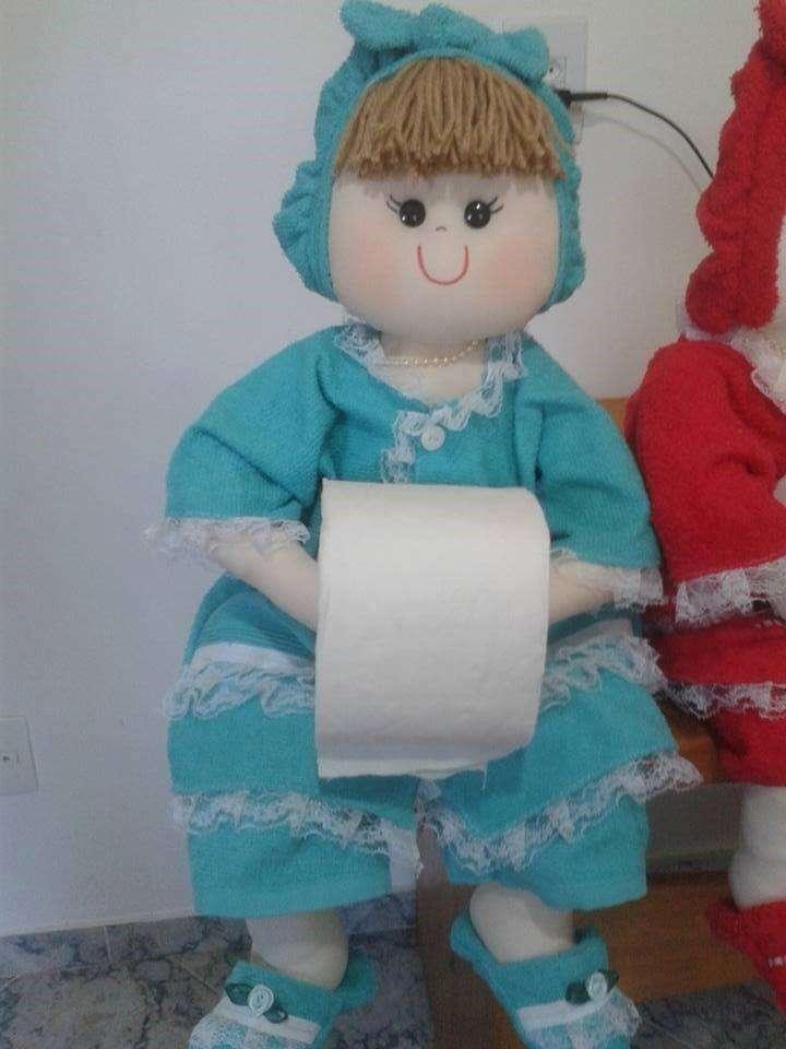porta papel higienico muneca gordita
